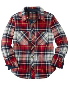 North Star Flannel Shirt by Hanna Andersson