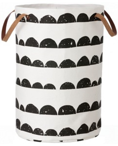 Organic Cotton Half Moon Basket by Hanna Andersson