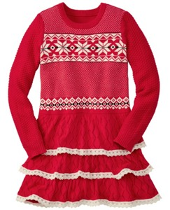 Let it Snö Sweater Dress by Hanna Andersson