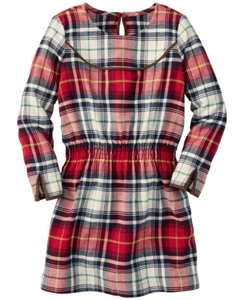 North Star Flannel Dress by Hanna Andersson