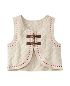 Quilted Toggle Vest by Hanna Andersson