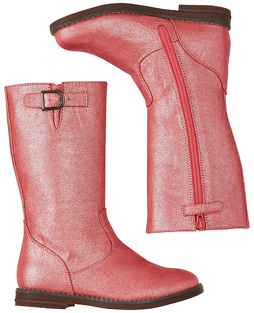 Girls Carine Glitter Boots by Hanna Andersson