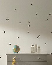 Mini Triangle Wall Decals by Hanna Andersson