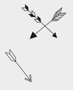 Arrow Wall Decals by Hanna Andersson