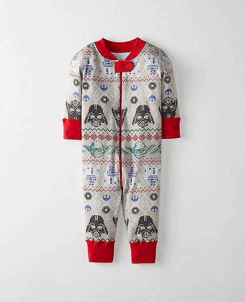 Star Wars™ Night Night Baby Sleepers In Pure Organic Cotton by Hanna Andersson
