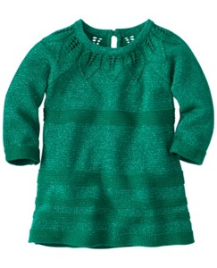 Nordic Spruce Sweater Dress by Hanna Andersson