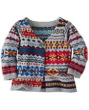 Folk-Mix Fair Isle Cardigan by Hanna Andersson