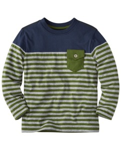 Colorbock Pocket Tee In Supersoft Jersey by Hanna Andersson