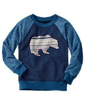 Get Appy Sweatshirt in 100% Cotton by Hanna Andersson