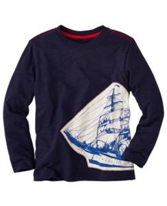 Seafarer Slub Jersey Tee by Hanna Andersson