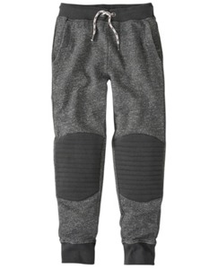Quilted Knee Slim Sweats by Hanna Andersson