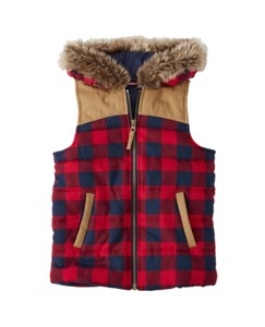 Woodsy Quilted Vest by Hanna Andersson