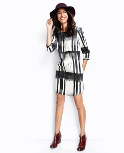 Brushstroke Slipover Dress by Hanna Andersson