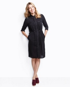 Swiss Dot Shirtdress by Hanna Andersson