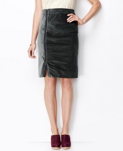 Velveteen Zip Skirt by Hanna Andersson
