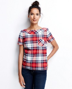 North Star Flannel Tee by Hanna Andersson