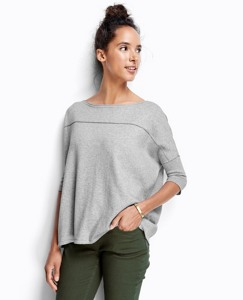 Number One Sweater In Cotton Cashmere by Hanna Andersson