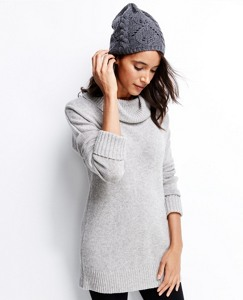 Marled Yarn Turtleneck Tunic by Hanna Andersson