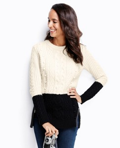 Lambswool Cable Sweater by Hanna Andersson