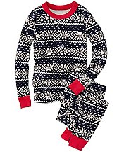 Long Johns Pajamas In Organic Cotton by Hanna Andersson