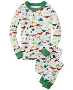 Disney•Pixar The Good Dinosaur Long John Pajamas In Organic Cotton by Hanna Andersson