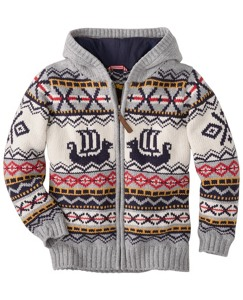 Viking Sweater Hoodie by Hanna Andersson