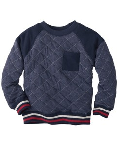 Quilted Sweatshirt by Hanna Andersson