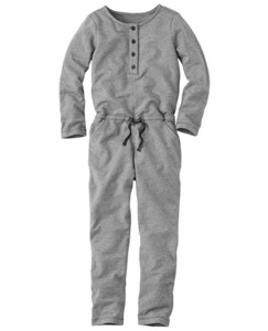 Cozy Romper In French Terry by Hanna Andersson