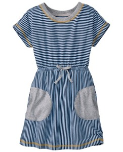 Happy Go Stripey Dress by Hanna Andersson