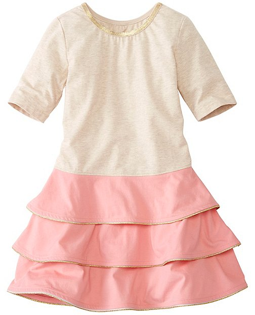 Girls Shimmer & Twirl Dress by Hanna Andersson
