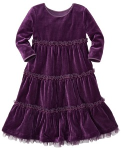 Velour Tutu Twirl Dress by Hanna Andersson