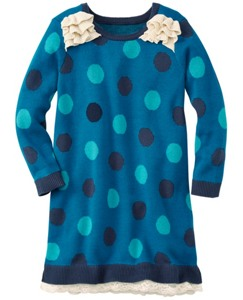 Dots Galore Sweater Dress by Hanna Andersson