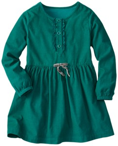Pincord Peasant Dress by Hanna Andersson