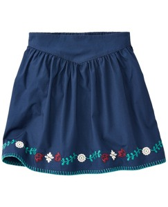 A Stitch In Time Skirt by Hanna Andersson