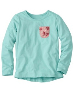 Poppy Pocket Tee by Hanna Andersson