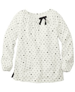 Petite Hearts Popover by Hanna Andersson