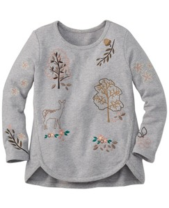 Embroidered Linnea Sweatshirt by Hanna Andersson