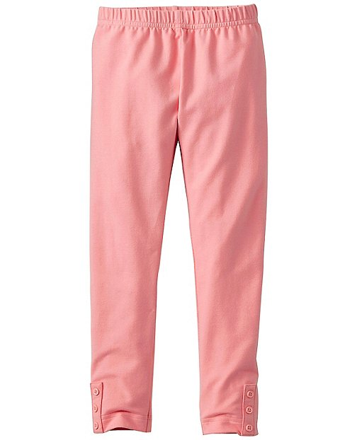 Girls Side Button Leggings by Hanna Andersson