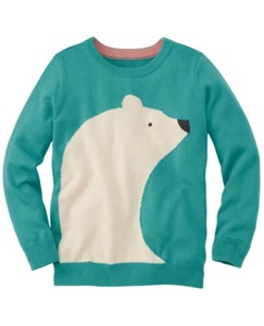Crittery Crewneck Sweater by Hanna Andersson
