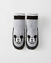 Kids Disney Mickey Mouse Slipper Moccasins by Hanna Andersson