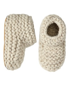 Handknit Woolly Booties by Hanna Andersson