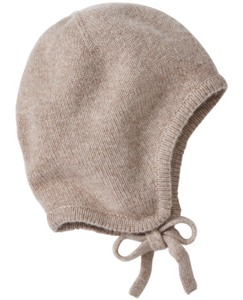 Cashmere Cozy-Luxe Pilot Cap by Hanna Andersson