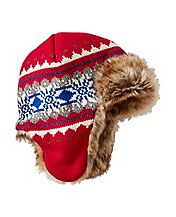 Kids Fur Trim Trapper Hat by Hanna Andersson