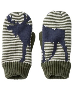 Fleece Lined Critter Mittens by Hanna Andersson