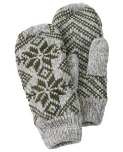 Fleece Lined Sweater Mittens by Hanna Andersson
