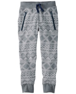 Slim Sweats In 100% Cotton by Hanna Andersson