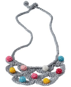 Handcrafted Crochet Necklace by Hanna Andersson