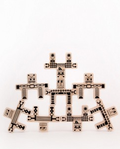 Handmade Toy Bots Puzzle by Hanna Andersson