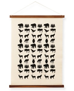 Handprinted Wall Art by Hanna Andersson