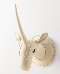 Unicorn Wall Trophy by Hanna Andersson